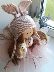 Интерьерные текстильные куклы 20-30 см