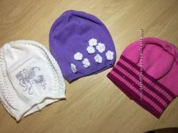 демисезонные хлопковые шапки Lenne на осень-весну