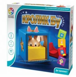 Настольная игра Кролик Бу.  Оригинал Смарт геймс