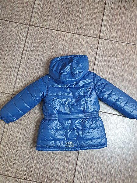 Шикарная, красивая, яркая двусторонняя курточка для девочки Boboli