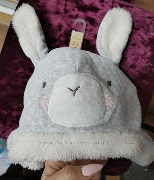 Милая шапочка с ушками