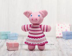 Вязаные эко игрушки, куклы ручной работы ТМ Фрея - Украина