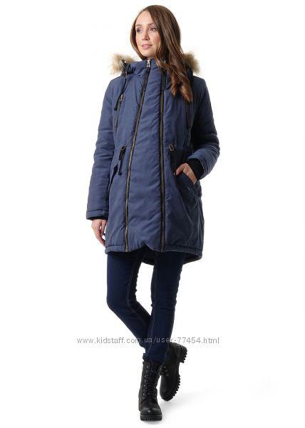 Слингокуртка, куртка парка зимняя для беременных 3в1 ТМ ILoveMum.