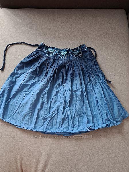 Красивая модная летняя юбка