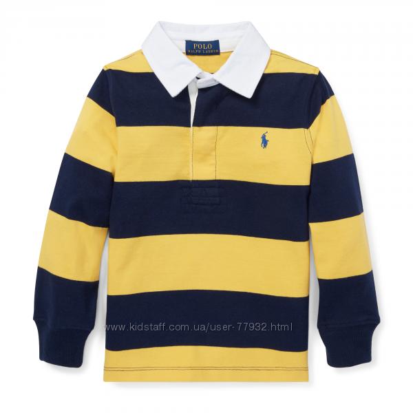 Рубашка и Поло Ralph Lauren, США, размер 7 лет.