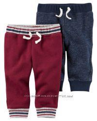 Трикотажные и теплые штанишки СARTERS, JUMPING BEANS.