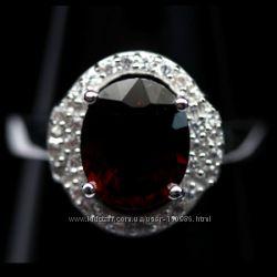 Серебряные кольца 925 пробы с натуральными камнями