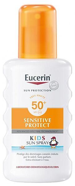 Eucerin Sun Protection KIDS SPF 50 детский солнцезащитный спрей 200мл