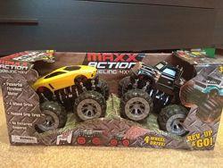Набор инерционные внедорожники машинки Maxx Action 4x4 Power