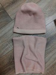 Зимовий комплект шапка і снуд. ТМ Agbo. Польща. 11-13 років