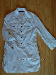 Стильна сорочка-плаття 46-48р