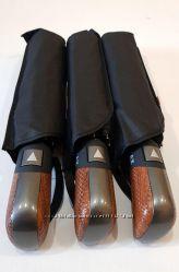 Шикарный мужской складной зонт полный полуавтомат антиветер monsoon