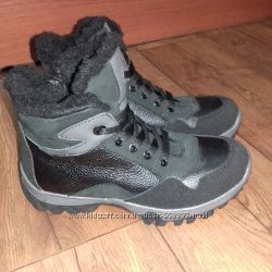Ботинки Лапси 32-39 кожашерсть