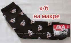 Носки женские хб махровые Собачки, г. Александрия недорого