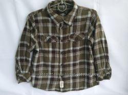 Рубашка в клетку H&M для мальчика 4-6 лет