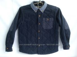 Продам рубашку утеплённую стегану AGE для мальчика 4-6 лет, рост 110-116 см