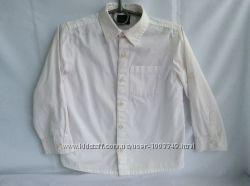 Продам белую рубашку Next  для мальчика 4-6 лет, рост 110-116 см