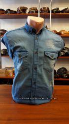 Джинсовая стильная Рубашка