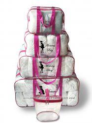 Прозрачные сумки в роддом Набор 5 шт Mommy Bag Польша