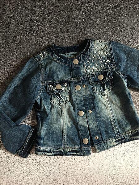 Джинсовая куртка размер 5-6 лет