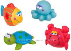 Игрушки для купания Akuku A0362 Веселые зверята