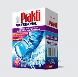 Соль для посудомоечных машин Dr. Prakti 1, 5 кг Польша