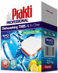 Таблетки для посудомоечных машин Dr. Prakti Professional 105шт. Польша