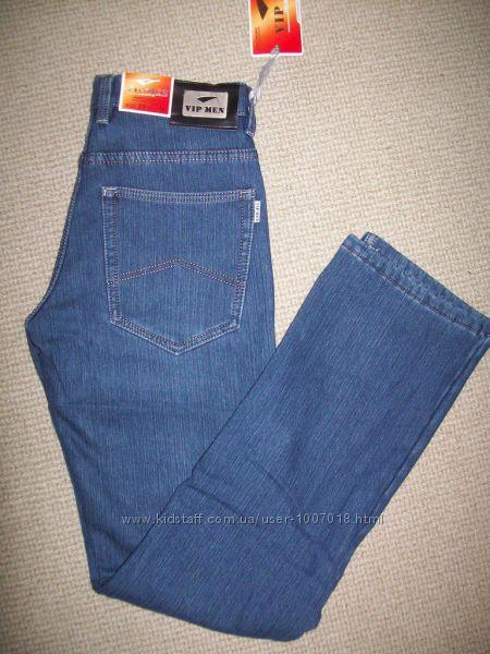 джинсы Классика на флисе  р-р  W 29 - L 34
