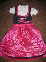 Карнавальный боварский национальный костюм, платье