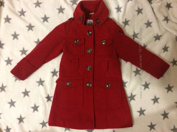 Демисезонное пальто Next 104р