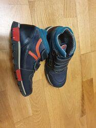 Деми ботинки кроссовки Pablosky Испания 30-31 р 20 см осень geox ecco