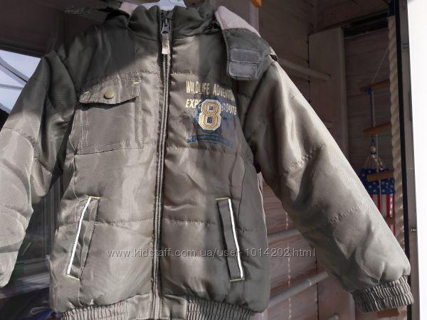 Деми курточка Okay Германия р. 110 в состоянии новой