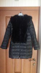 Пальто cerruti зима италия s-m снуд в подарок