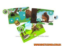 Лесные животные - Умные липучки