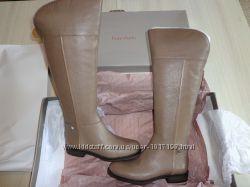 Новые женские кожаные сапоги демисезонные Franco Sarto Christine ботфорты