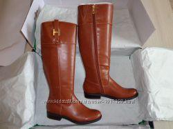 Новые женские кожаные демисезонные сапоги Tommy Hilfiger Shyenne 3