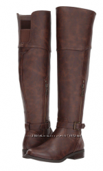 Новые женские кожаные ботфорты сапоги G by GUESS Hickory 23. 5 см