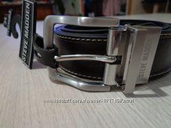 Новый мужской двух-сторонний кожаный ремень Steve Madden Reversible Belt Le