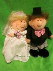 Кукла. лялька. куколка. лялечка. свадебная пара. весільна пара. мягкие игрушки.