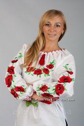 Нарядная женская вышиванка.