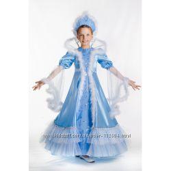 Прокат карнавального костюма Снежная королева зима метель