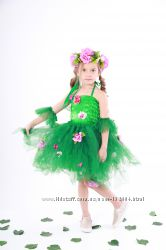 Карнавальный костюм весны для девочки