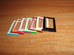 iPhone iPad iPod цветной слот SIM Card Slot Tray holder держатель СИМ карт