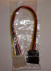 MOLEX IDE SATA power кабель переходник HDD сата коннектор s-ata serial CD D