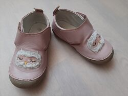 Туфлі мокасини Vertbaudet, Франція, шкіра, р.22, 14см