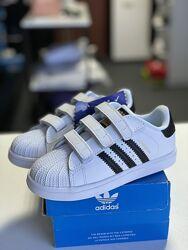 Детские кроссовки Adidas Superstar разные цвета