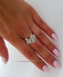 Серебряное кольцо с золотыми напайками есть наложка