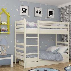 Двухъярусная кровать Скай из дерева