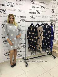 a267b0b2 Турецкое теплое платье батал, Турция платье большие размеры 52 54р СКИДКА