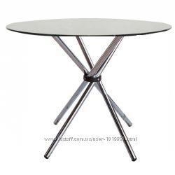 Стол обеденный Тог, стеклянный, цвет прозрачный